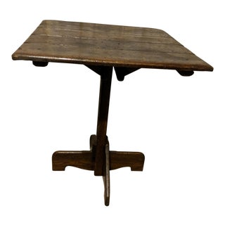 Old Hickory of Martinsville Indiana Side Accent or Game Table