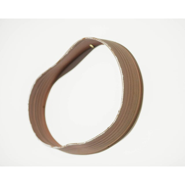 """Clay Yokky Wong """"Cycles"""" Series Wall-Mounted Porcelain Ring Sculpture #3 For Sale - Image 7 of 10"""