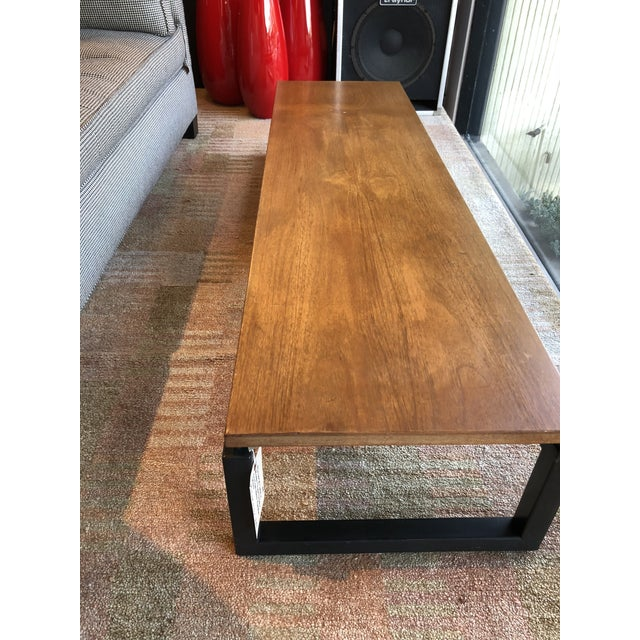 Michael Taylor for Baker Wooden Coffee Table - Image 2 of 6