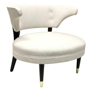 Gilbert Rohde Style Lounge Chair For Sale