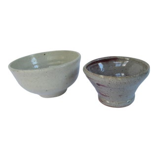 Handmade Pottery Serving Bowls-2 Pieces