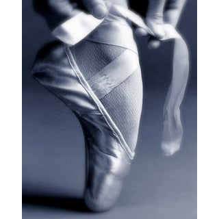 """""""Tying Ballet Slippers (20""""x25"""")"""" Contemporary Photograph by John Manno For Sale"""