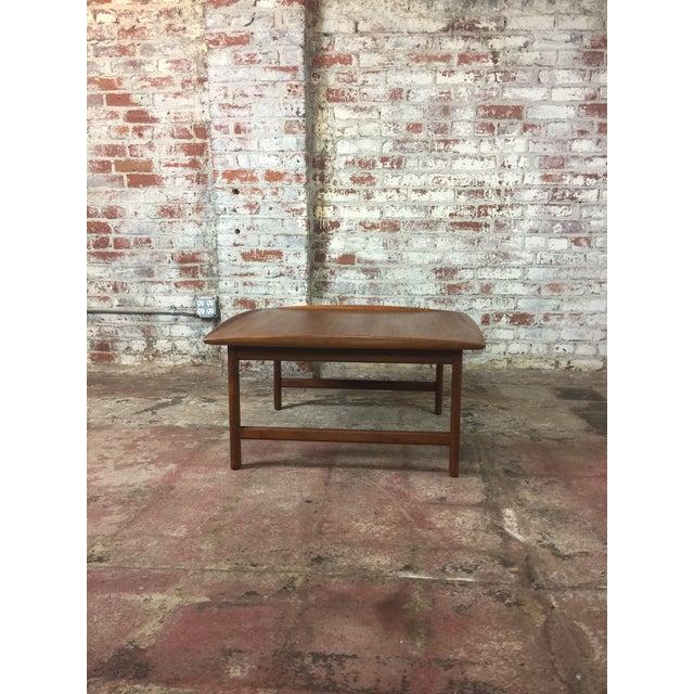 Wood 1980s Scandinavian Modern Dux Sweden Teakwood Coffee Table For Sale - Image 7 of 13