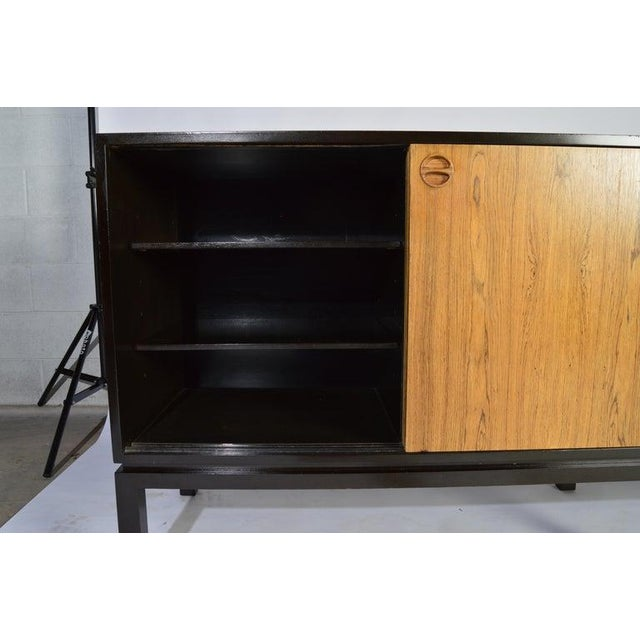 Harvey Probber Harvey Probber Rosewood and Mahogany Credenza For Sale - Image 4 of 12