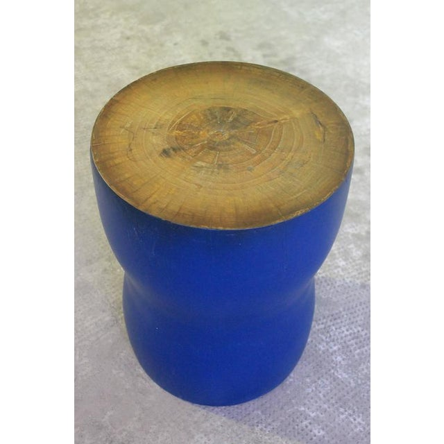 Costantini Ysgawyn Custom Carved Occasional Table in Solid Wood For Sale In New York - Image 6 of 7