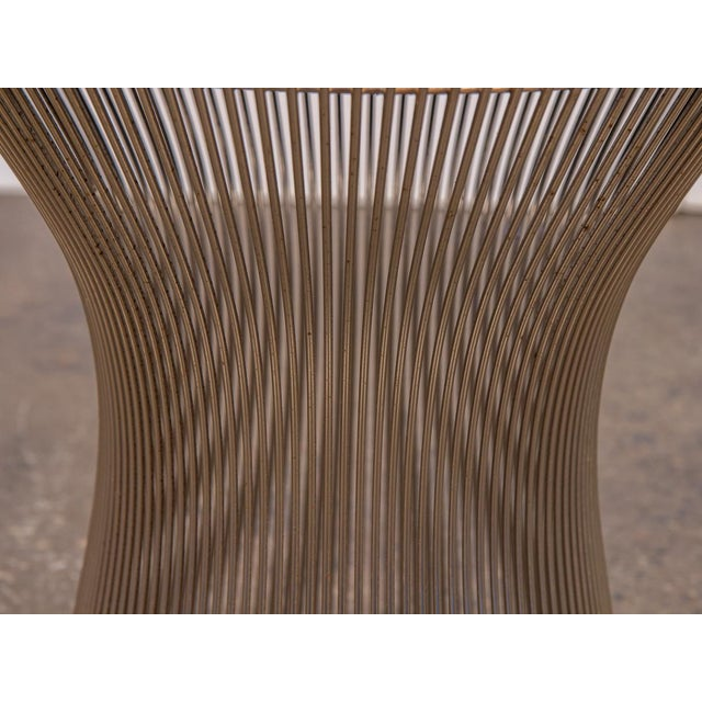 1960s Warren Platner Wire Stool for Knoll For Sale - Image 5 of 10