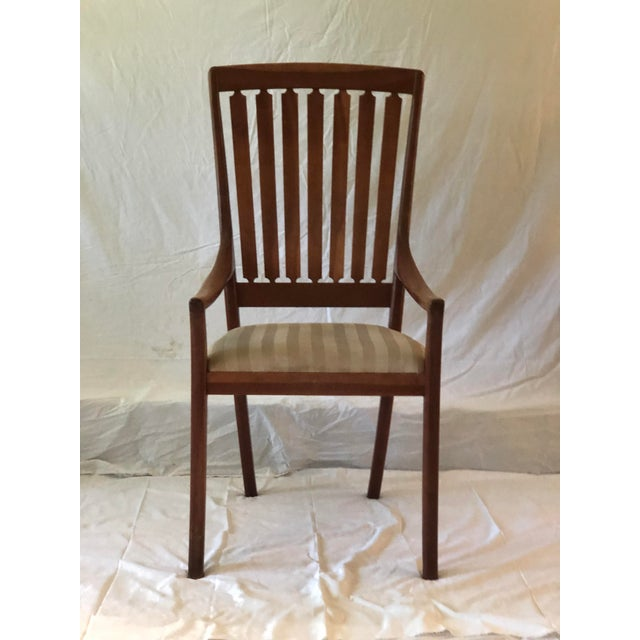 Mid Century Modern Arm chair, sans ottoman, handcrafted in Pennington, NJ by Robert R. Jamieson. Also Arts and Craft, and...