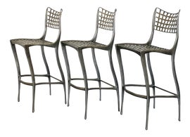Image of Aluminum Bar Stools