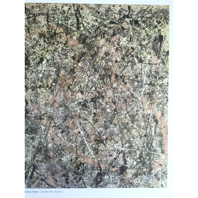 """Jackson Pollock Foundation Abstract Expressionist Collector's Lithograph Print """" Lavender Mist : No. 1 """" 1950 For Sale In Kansas City - Image 6 of 13"""