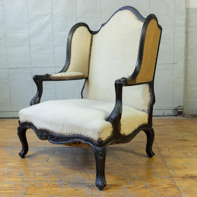Unusual French, 19th Century Napoleon III Winged Bergere - Image 2 of 12