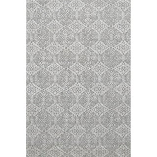 Sample - Stark Studio Rugs Alessi Rug in Gray For Sale