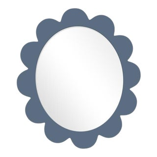 Fleur Home x Chairish Iris Oval Mirror in Distance, 27x22 For Sale