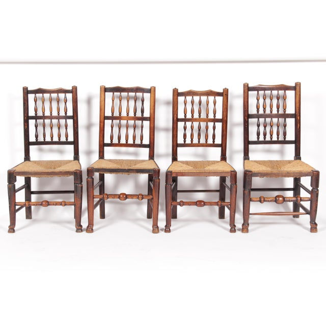 19th-C. Antique English Dining Chairs - Set of 4 - Image 2 of 11