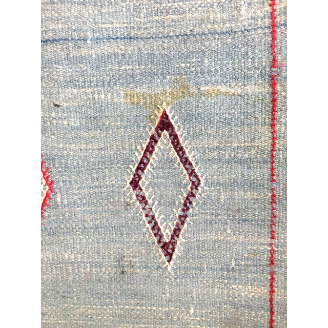 Vintage Moroccan Flat Weave Rug - 2′ × 3′3″ - Image 4 of 4