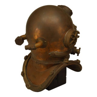 1/2 Scale Modle of a Diver's Helmet For Sale