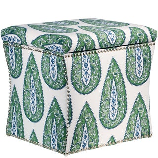 Bindi Kelly Cotton Storage Ottoman For Sale