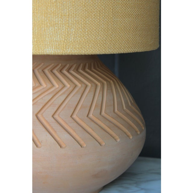 Native American Art Pottery Lamp - Image 11 of 11