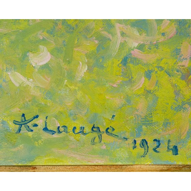 Arbres en Fleur à Alet-les-Bains (Flowering Trees in Alet-les-Bains) For Sale - Image 4 of 6