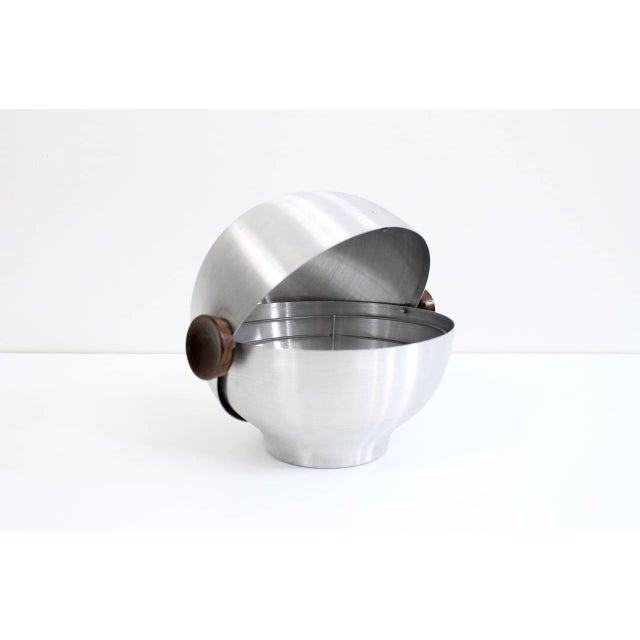 Mid-Century Modern Rare and Early Russel Wright Aluminum Vessel For Sale - Image 3 of 11