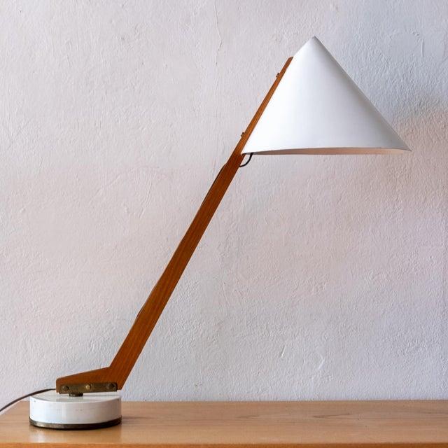 AB Markaryd 1950s Hans-Agne Jakobsson Desk Lamp For Sale - Image 4 of 13