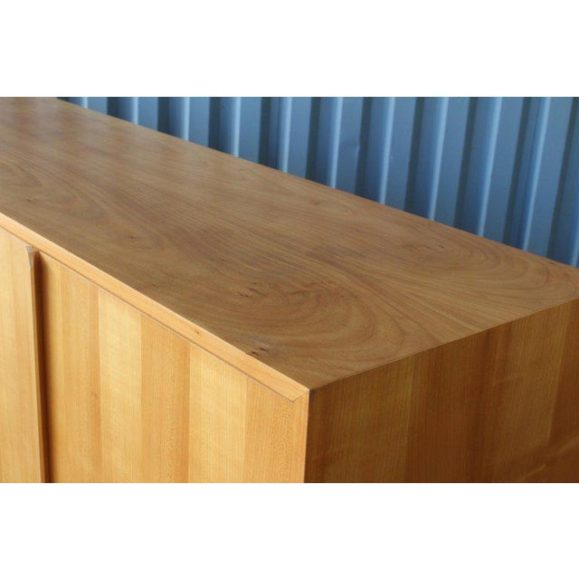 Mid-Century Modern Maple Highboard Credenza, Germany, 1960s For Sale - Image 3 of 13