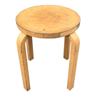 Alvar Aalto E60 Stool (A) For Sale