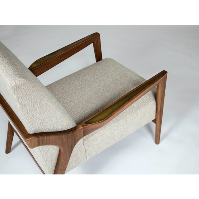 Not Yet Made - Made To Order The Barney Club Chair by Studio Van Den Akker For Sale - Image 5 of 6