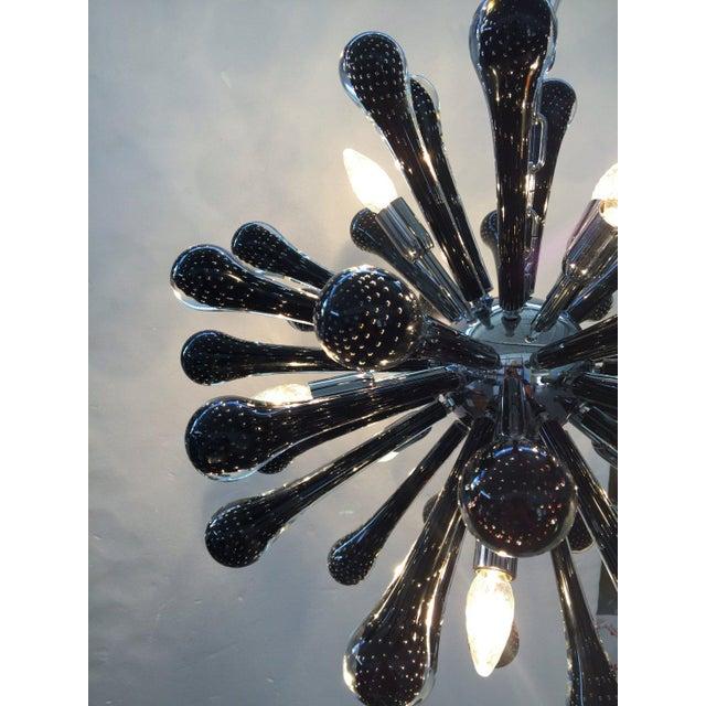 Murano Murano Glass Triedo Sputnik Chandelier For Sale - Image 4 of 7