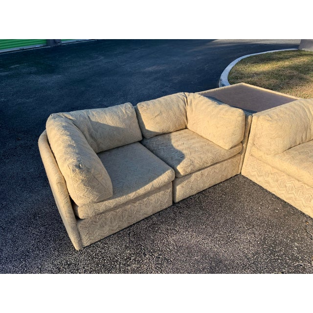Mid-Century Modern 1970s Milo Baughman Sectional Sofa for Thayer Coggin For Sale - Image 3 of 13