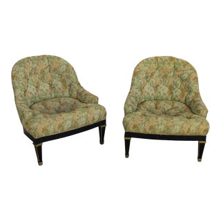 Mid-Century Modern Style Club Chairs - a Pair For Sale