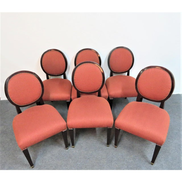 John Widdicomb Hepplewhite Dining Chairs - Set of 6 - Image 3 of 8