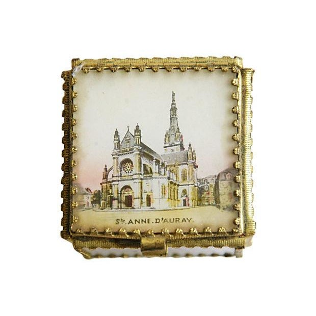 Antique French Souvenir Boxes - A Pair - Image 6 of 8