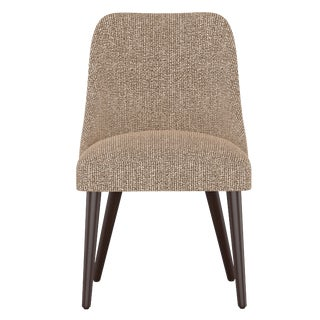 Rounded Back Dining Chair in Solitude Spice For Sale