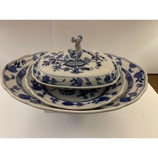Late 19th Century Antique Cauldon Vegetable Serving Dish Set - 3 Pieces Preview