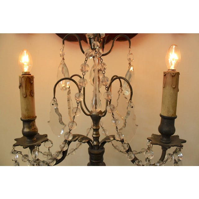 19th Century Italian Girondole Lamps - A Pair - Image 5 of 5