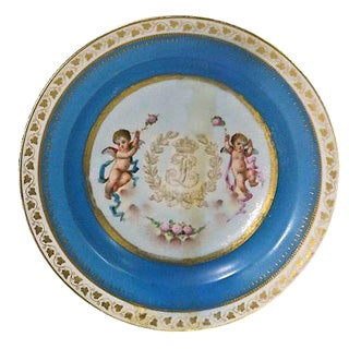 Porcelain Antique Sèvres Cherub Bowl For Sale