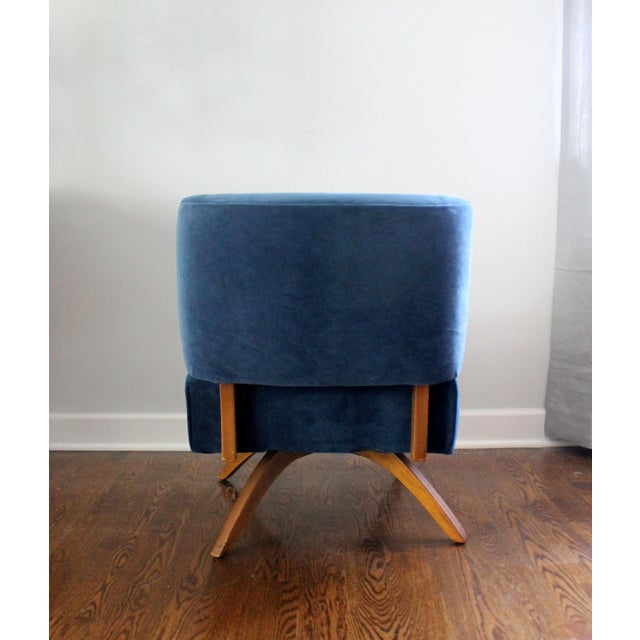 Vintage Mid Century Modern Accent Chair - Image 6 of 9