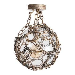 Contemporary Ball & Chain Pendant by Cuff Studio For Sale
