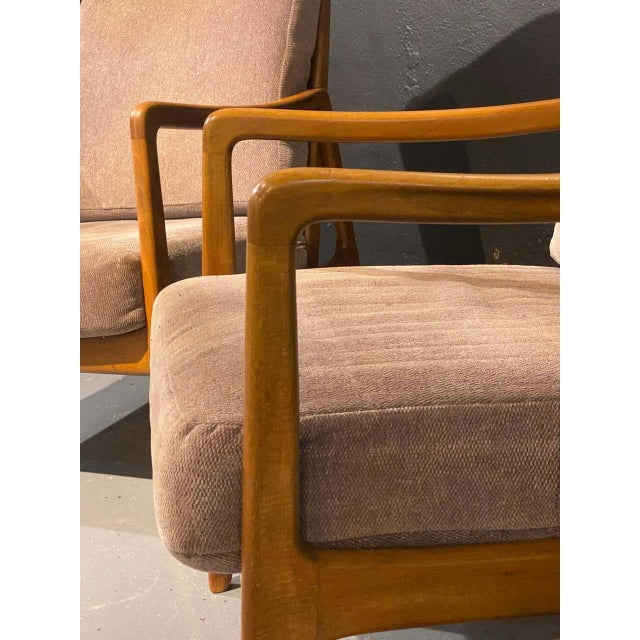 France and Daverkosen Teak Armchairs, Mid-Century Modern For Sale In New York - Image 6 of 13