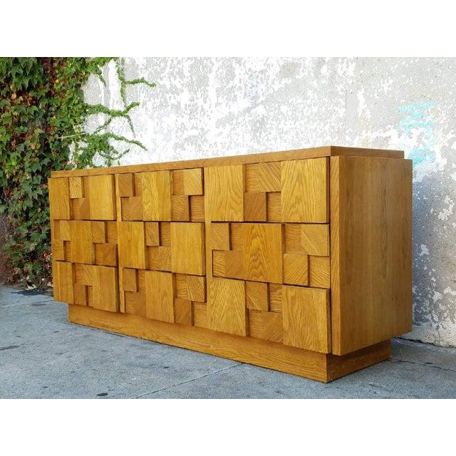 1970's Lane 9-Drawer Dresser - Image 4 of 7