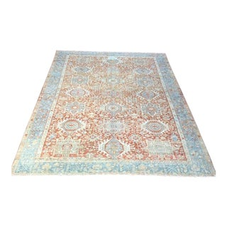 Decorative Antique Persian Karajeh Rug - 7′10″ × 10′9″ For Sale