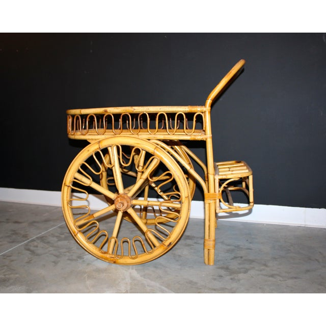 Rattan Bar Cart - Image 10 of 10