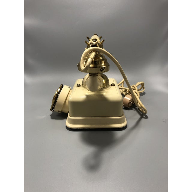 Mid-Century Modern Mid-Century Electric Dial Phone 1950s Circa For Sale - Image 3 of 8