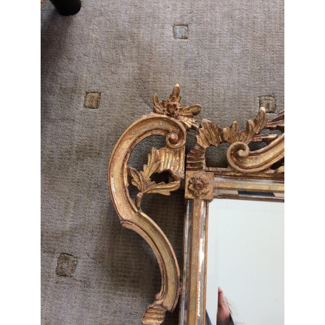 LaBarge Ornate Italian Giltwood Mirror - Image 5 of 9