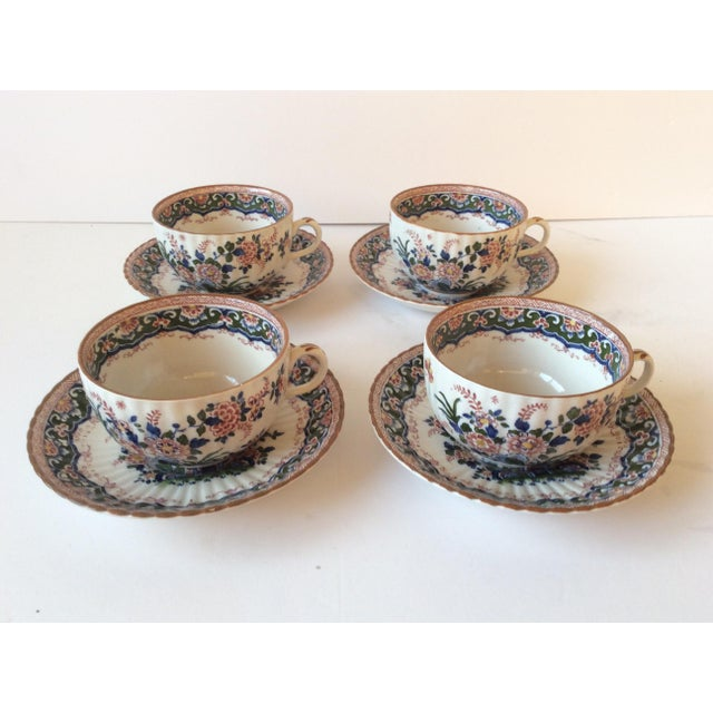 """Booths """"Old Dutch"""" Cup & Saucers - Set of 4 - Image 2 of 11"""
