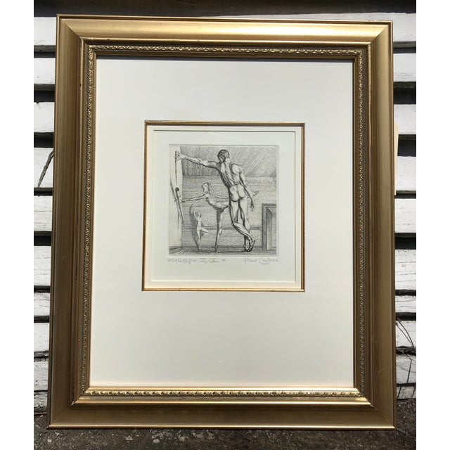 Paul Cadmus Arabesque Etching For Sale In Charleston - Image 6 of 7