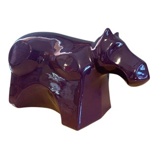 Vintage Vanguard Hippo Figurine For Sale