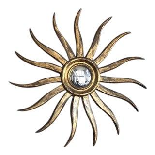 Vintage Italian Style Sunburst Mirror