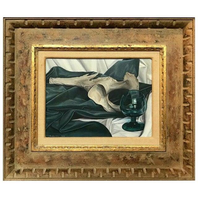 Luigi Lucioni Oil on Canvas Still Life For Sale - Image 9 of 9