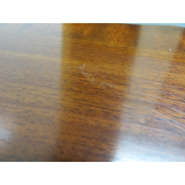 Chippendale Henkel Harris Mahogany Chippendale Carved Side Table For Sale - Image 3 of 8
